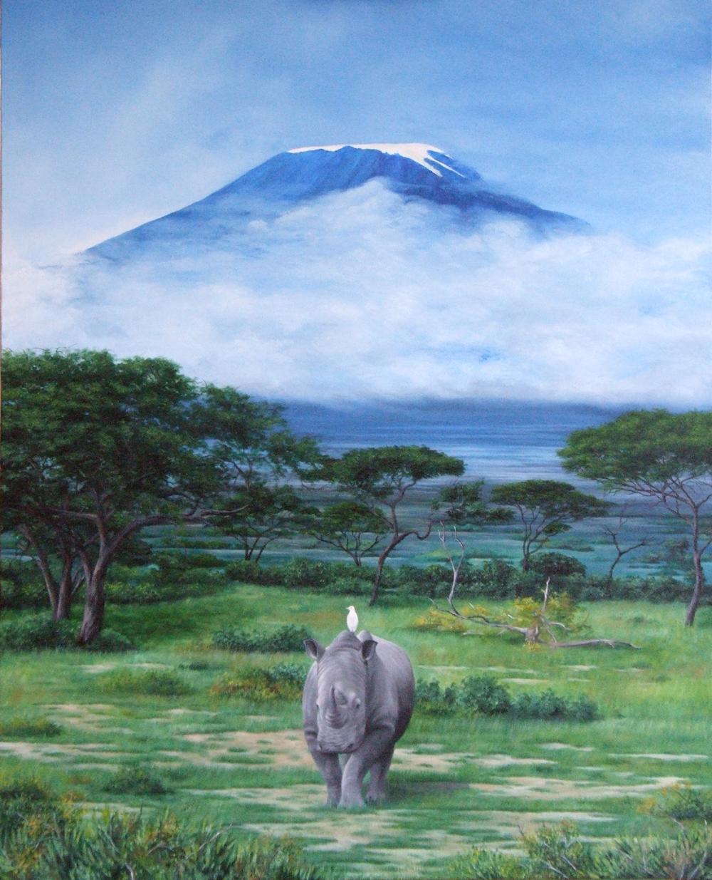 Kilimandjaro 65x73cm