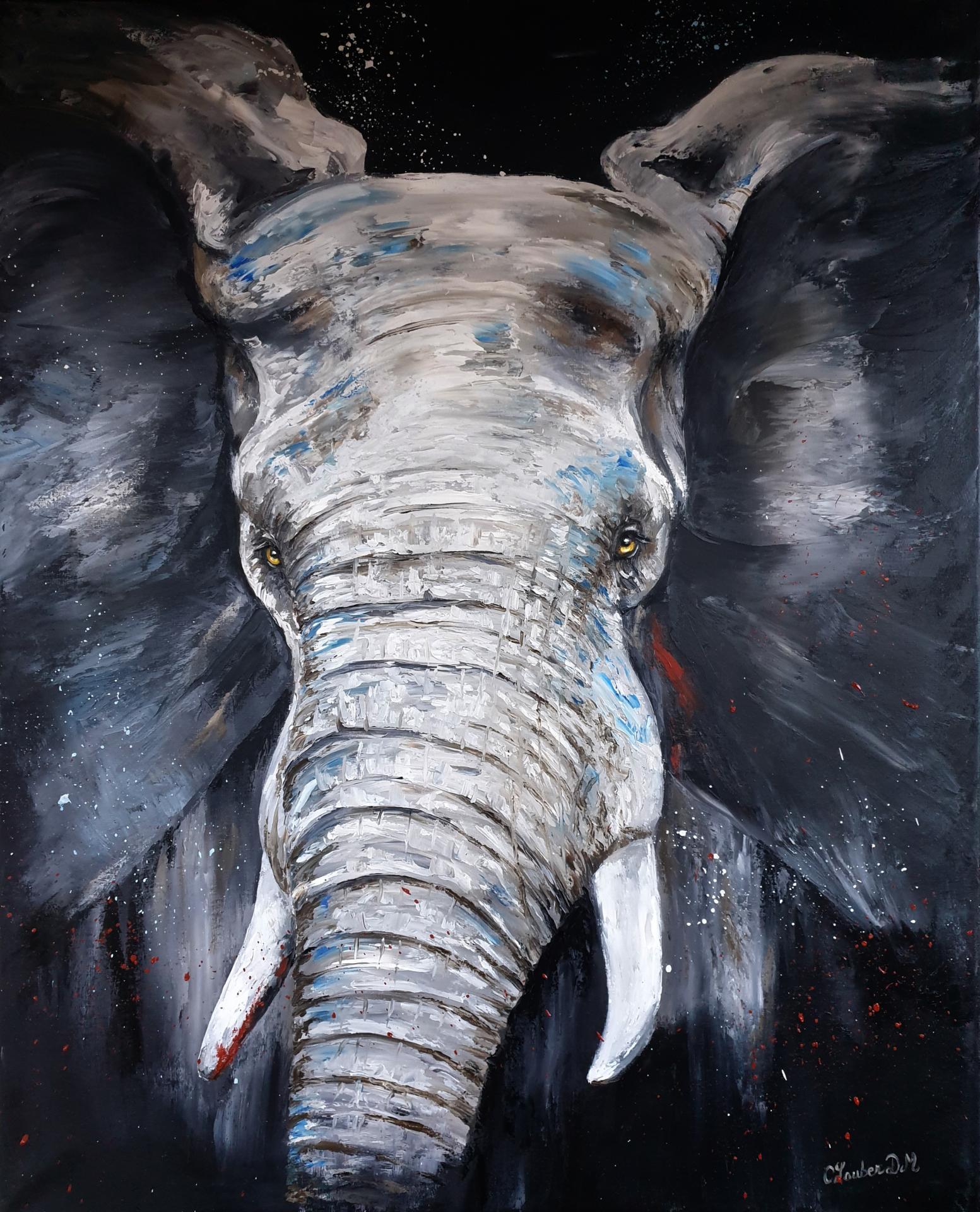 Elephant (81x100cm)
