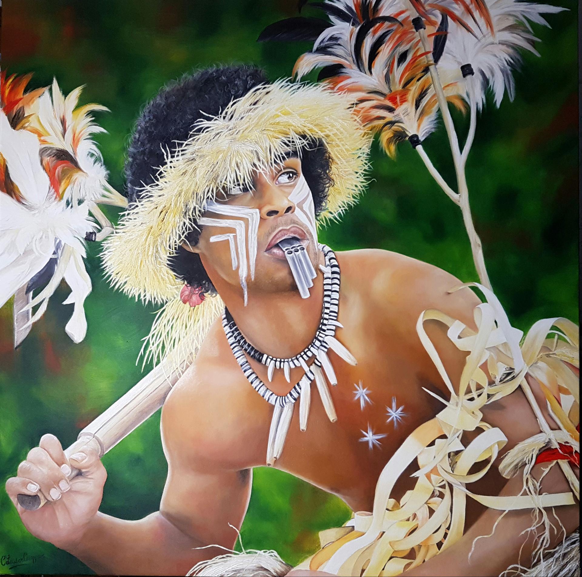Maori 100x100cm