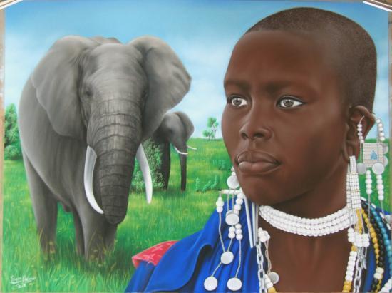 Femme Massaï