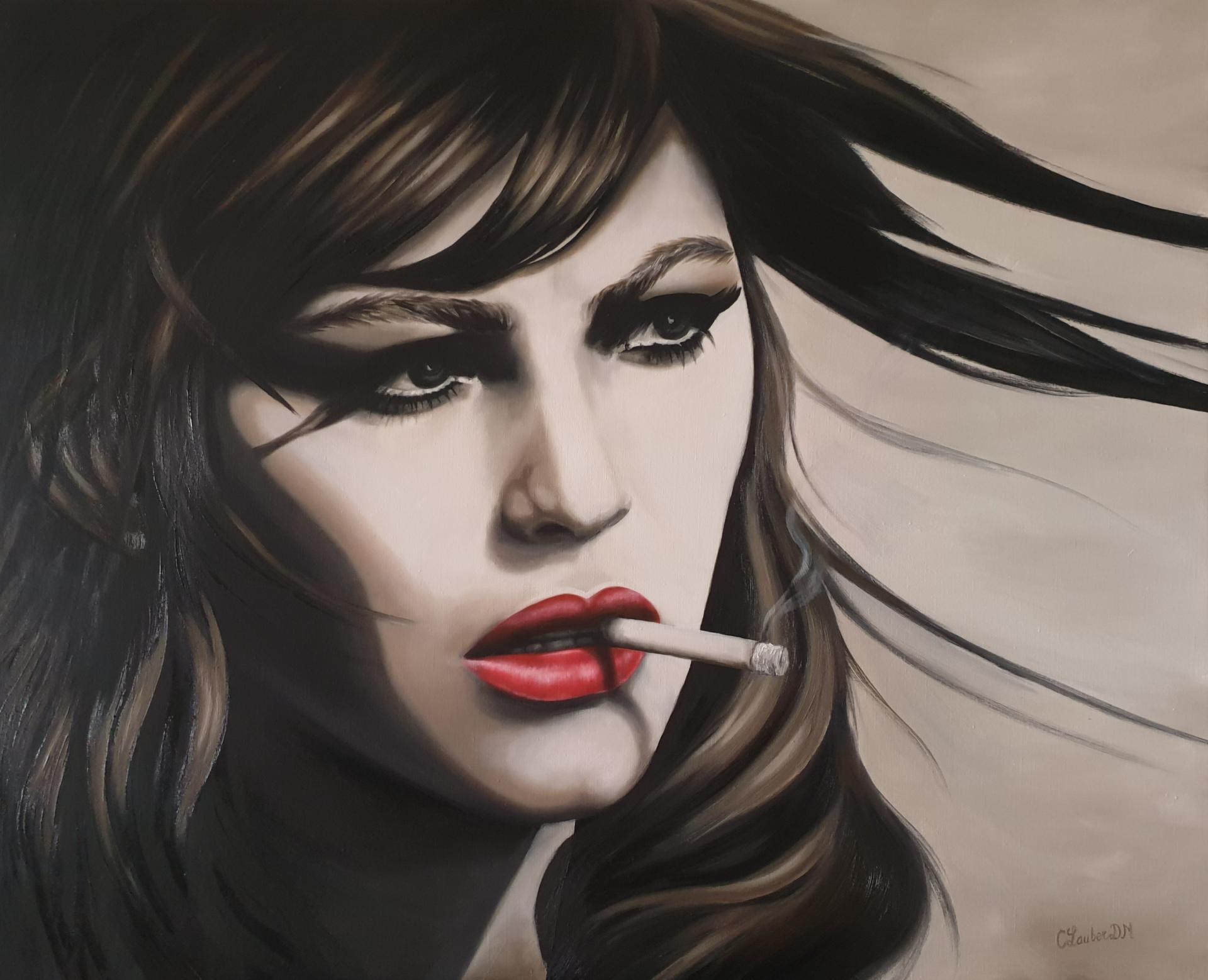 peinture à l'huile 80x100cm