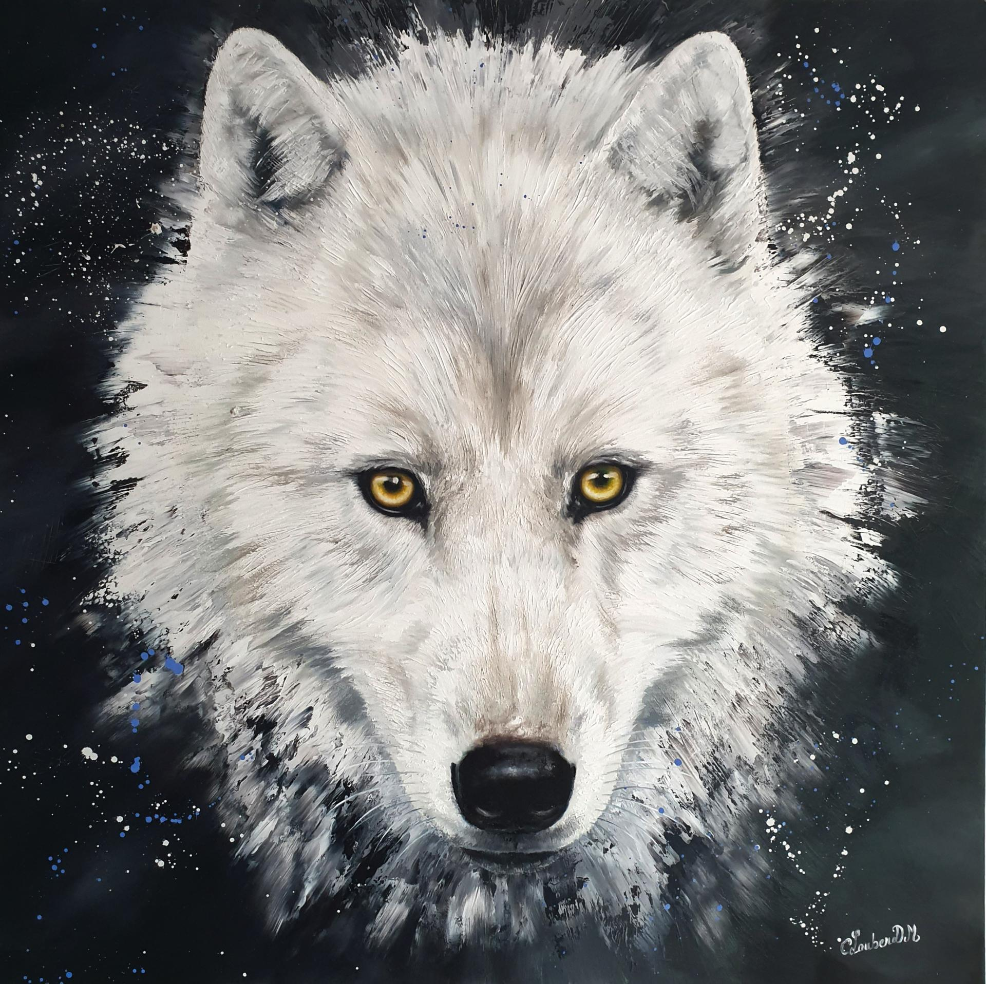 Loup 90x90cm